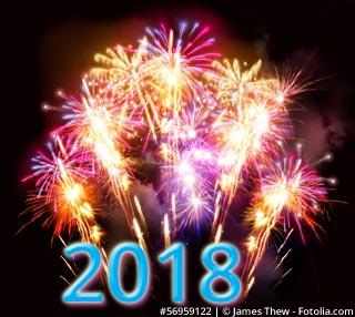 Ein gesundes und erfolgreiches neues Jahr 2018!