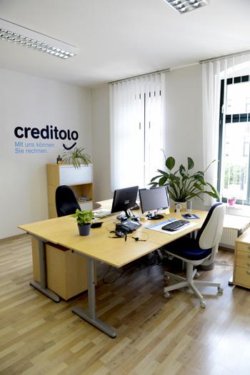 creditolo GmbH - Unsere Geschäftsräume in Halle (Saale) - Innenansicht