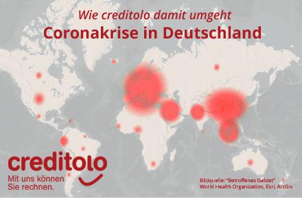 Coronakrise in Deutschland - wie creditolo damit umgeht