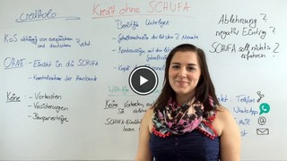 Kredit ohne SCHUFA im Video erklärt