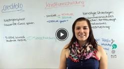 Kreditumschuldung im Video erklärt